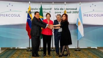 Mercosur le da la bienvenida a Venezuela