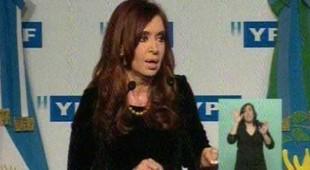 Cristina: Hemos vuelto a perforar pozos de gas después de 15 años