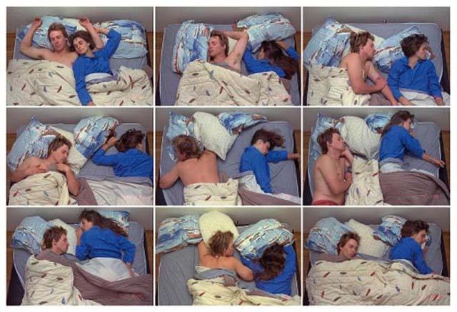 Parejas: Dime como duermen y te dire como son