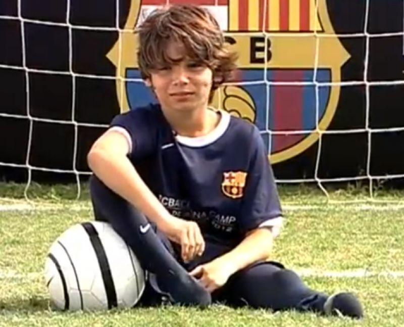 Video: La conmovedora historia del niño sin pies que sueña con ser como Messi