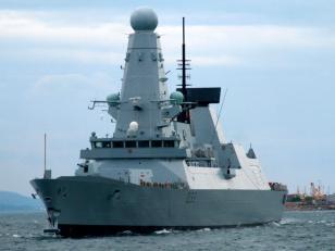 El Reino Unido envía un destructor británico de última generación a Malvinas