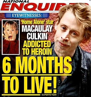 Le quedan seis meses de vida a Macaulay Culkin