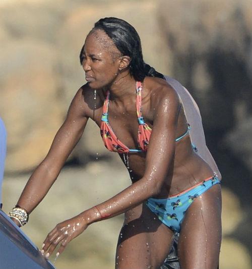 La impactante calvicie de Naomi Campbell
