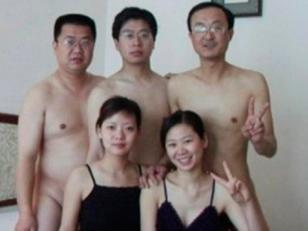 Orgia de politicos en China