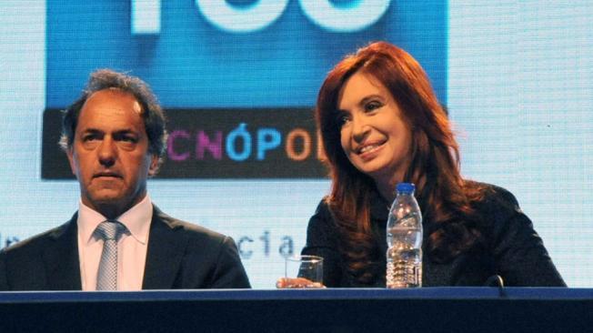 Scioli dijo que si hay re-reelección, el apoyará a Cristina
