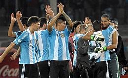 Argentina le gano a Paraguay con comodidad