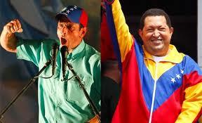 Capriles supera a Chávez segun una encuesta reciente