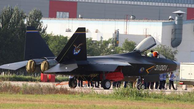 China estaría desarrollando un avion caza invisible