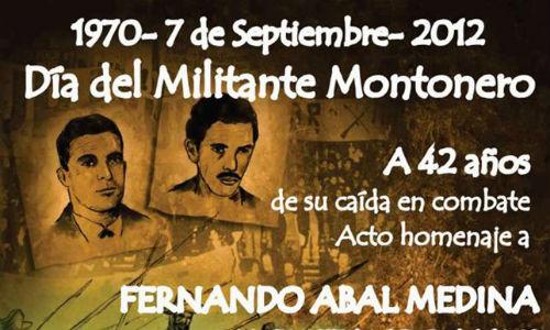 """Polemica por el """"Dia del montonero"""""""