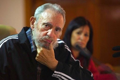 El hijo de Fidel Castro dice que su papa está lúcido y trabajando mucho