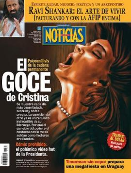 """Noticias:""""El goce de Cristina"""""""