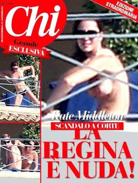 Nuevas fotos de Kate Middleton en topless