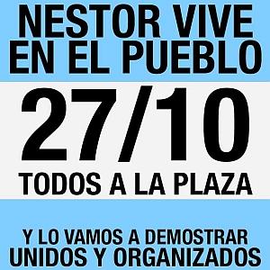 Despues de la masiva marcha de ayer , los K convocan a contramarcha a Plaza de Mayo