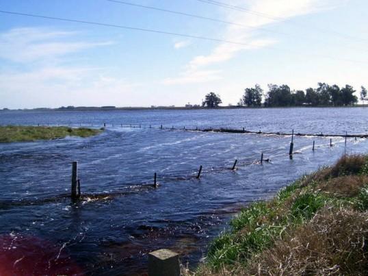 La situación en Pehuajó por las inundaciones es muy grave