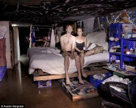 Cientos de personas viven en túneles en Las Vegas