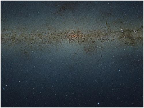 84 millones de estrellas en una foto sin precedentes de la Vía Láctea