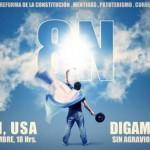 Afiches oficiales sobre el #8N