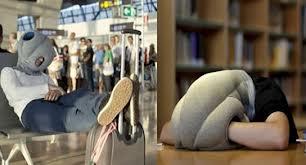 Lanzan la almohada para dormir en cualquier lado