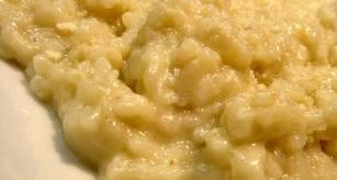Receta de arroz cuatro quesos