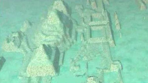 Hallaron una ciudad sumergida bajo el agua en el Triángulo de las Bermudas. Video
