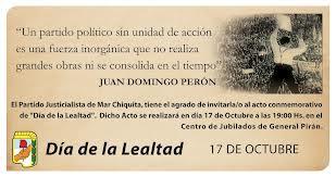 Día de la Lealtad - 17 de Octubre