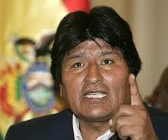 Para Evo Morales , EEUU es colonizador pero España no