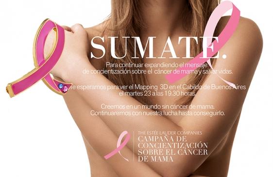 Mapping en el Cabildo para concientizar a las mujeres sobre el cáncer de Mama