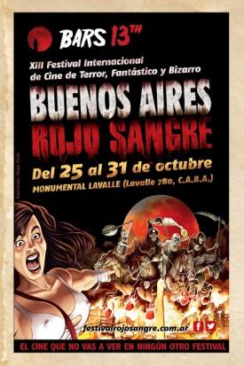Se viene el festival Buenos Aires rojo Sangre