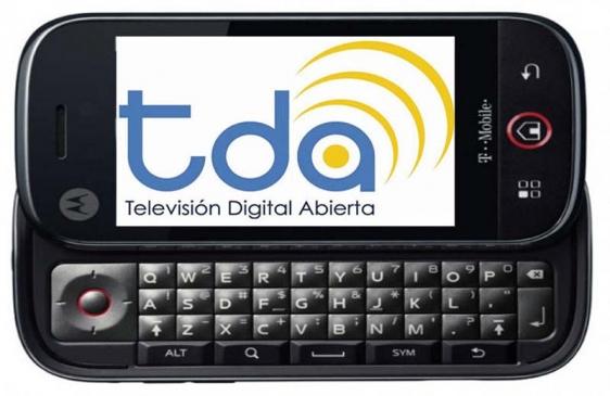 Teléfonos celulares con televisión digital abierta