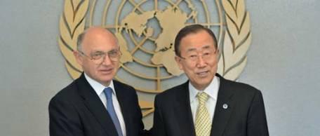 La ONU recibió a Timerman pero no intercederá por la Fragata Libertad