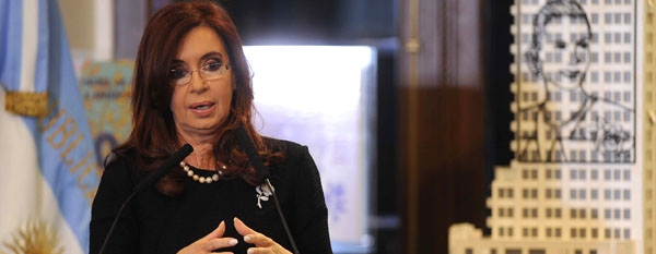 """Cristina: """"Vamos a recuperar la Fragata Libertad"""""""