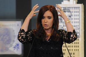 """Según Cristina el cepo al dólar es un """"mito urbano"""""""