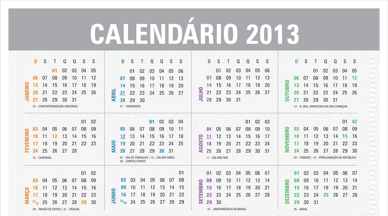 Los nuevos feriados del 2013