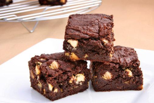 Un tipo de brownie que no lleva horno