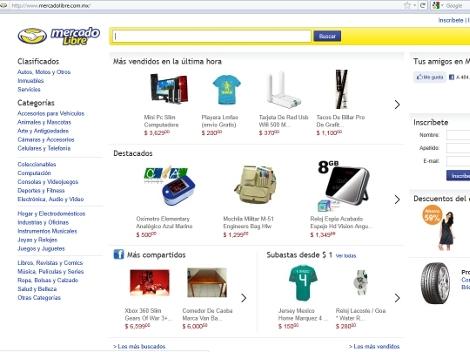 Recomendaciones de MercadoLibre para compras en Internet