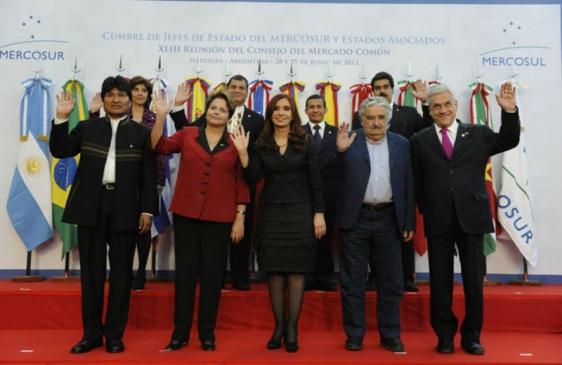 Mercosur trata ingreso de Bolivia y Ecuador al bloque