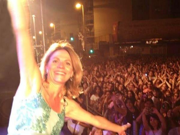 Marcela Morelo pidió más seguridad en Lanús y su show terminó en un escándalo