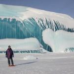 Increibles fotos de olas congeladas en la Antártida