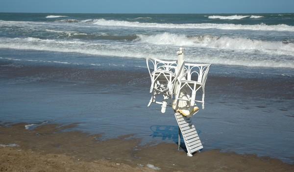 Operativo de Seguridad en las playas de Pinamar