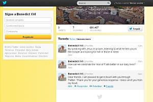 Este fue el primer twit del Papa