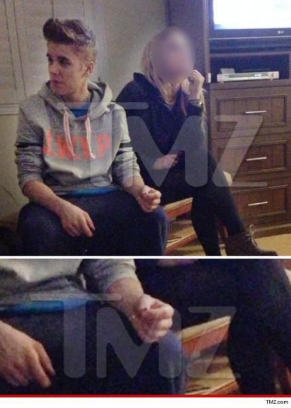 Justin Bieber fumando marihuana?