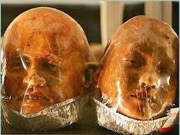 Encuentran un cargamento de 18 cabezas humanas en un aeropuerto