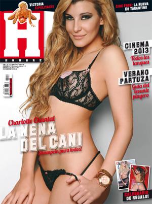 Las fotos de Charlotte Caniggia en la revista Hombre