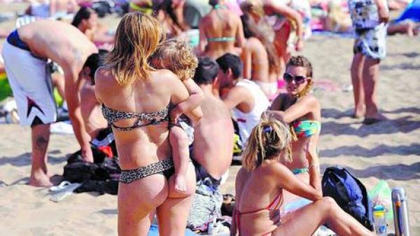 Mar del Plata: Hasta las de más de 50 hacen cola less