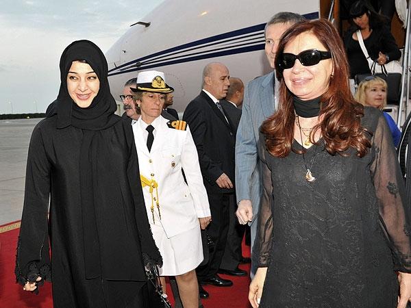 Cristina Kirchner dejó Emiratos Árabes y sigue su gira por Indonesia