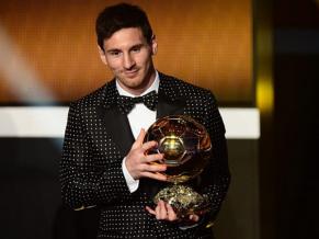 Messi ganó su cuarto Balón de Oro consecutivo