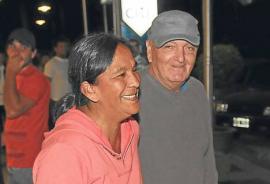 Milagro Sala de vacaciones en Cariló