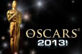 La lista de los nominados a los Premios Oscars 2013