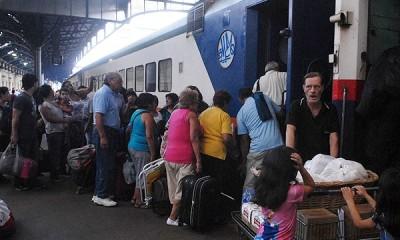 Cancelan tren a Mar del Plata por mal estado general de los vagones