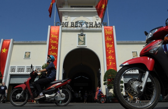 Cristina llegó a Vietnam, el último destino de su gira asiática